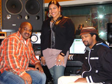 Joe Wize of Indiggo Child, Shakti & Marcus Bell of Global Soul